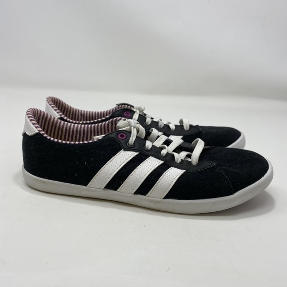 Adidas Neo Women's Black Sneakers Size 6 (A140)